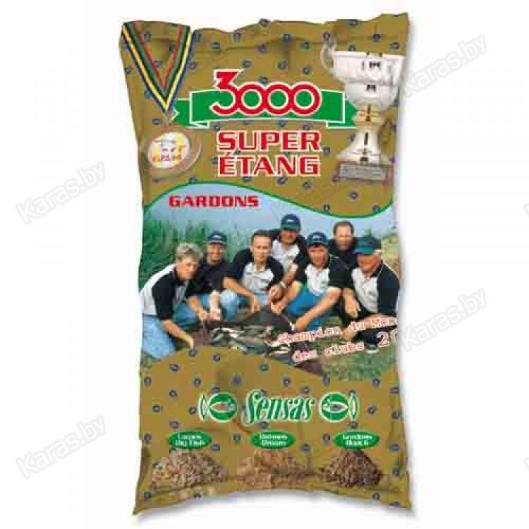 прикормка sensas 3000 etang